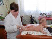 Ароматичний масаж дитини