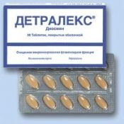 Детралекс: застосування в медичній практиці, інструкція із застосування, аналоги препарату