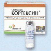 Кортексин: інструкція, показання до застосування, побічні дії, аналог, дозування, протипоказання