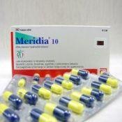 Медичний препарат для схуднення меридиа