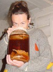 Напій з чайного гриба