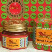Тигровий бальзам з тайланда - тайська червона мазь